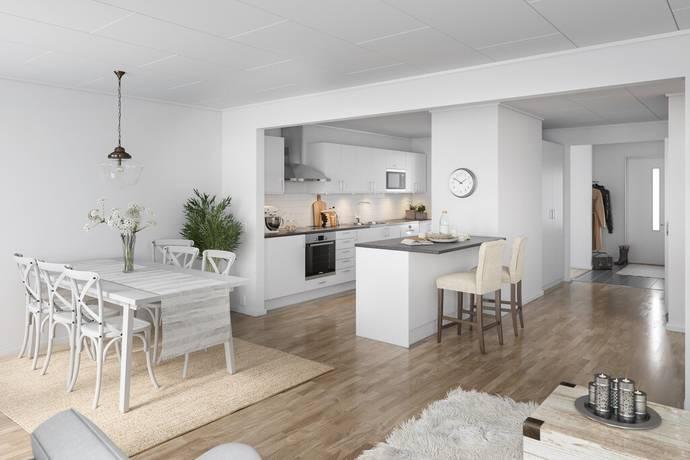 Bild: 5 rum bostadsrätt på Gullberna Park - Kedjehus nr 8, Karlskrona kommun