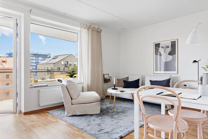 Bild: 2 rum bostadsrätt på Settergatan 8, Stockholms kommun Norra Djurgårdsstaden