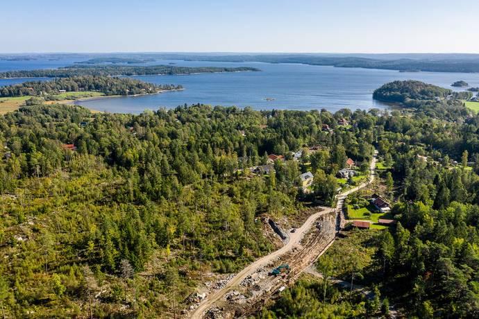 Bild: tomt på Burhultsvägen 39, Lerums kommun Björboholm