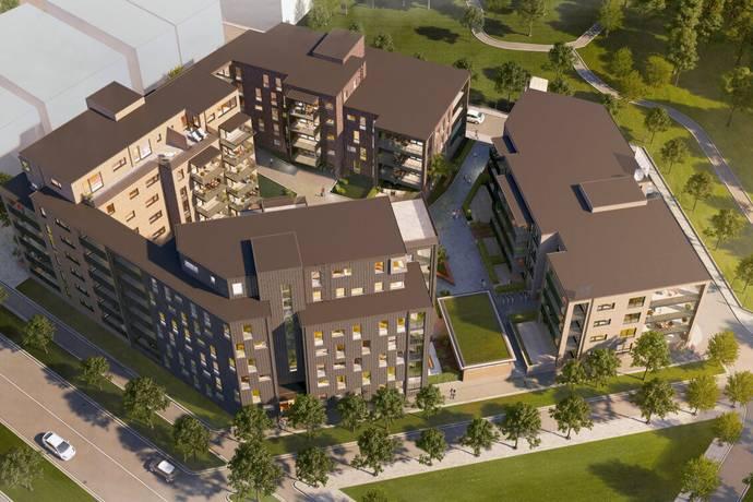 Bild: 4 rum bostadsrätt på Brf Arkeologen, Helsingborgs kommun Mariastation