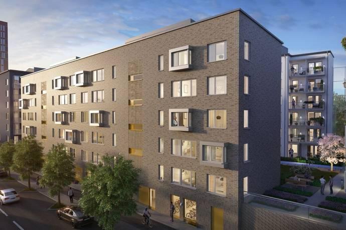 Bild: 2 rum bostadsrätt, Stockholms kommun Älvsjö Station