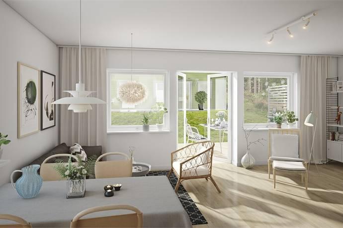Bild: 6 rum radhus på Södersätravägen 11D, Sollentuna kommun Väsjön