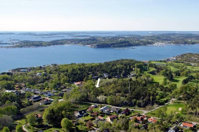 Bild: tomt på Norra Grinnekärrsvägen 3a, Göteborgs kommun Hovås