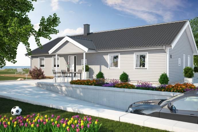 Bild: villa på Prästbacken 14, Kristianstads kommun Huaröd