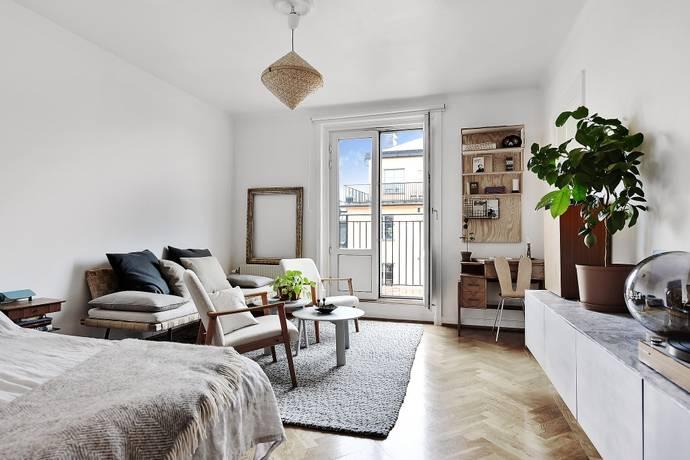Bild: 1 rum bostadsrätt på Bergsundsgatan 21, 6/6tr, Stockholms kommun Södermalm / Hornstull
