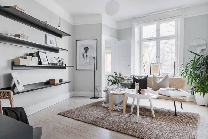 Bild: 2 rum bostadsrätt på Skogvaktargatan 16, 2 tr, Stockholms kommun Hjorthagen