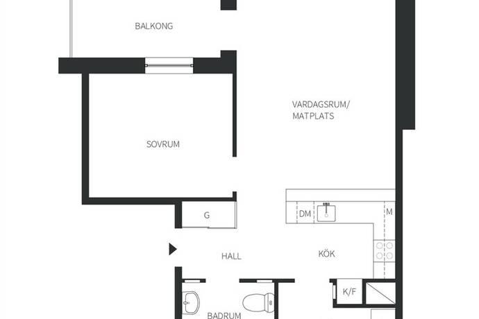 Bild: 2 rum bostadsrätt på GJUTARE GRANSTRÖMS GATA 5, Västerås kommun City