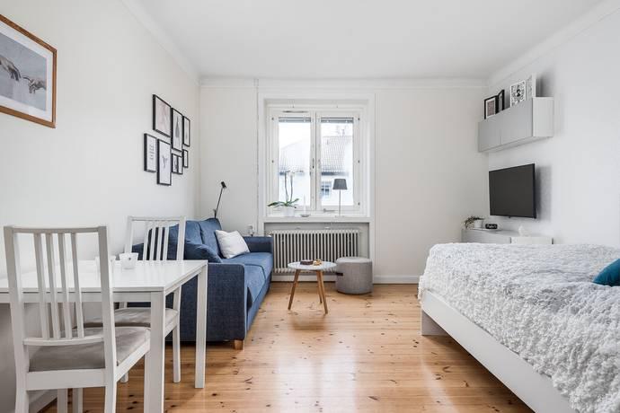 Bild: 1 rum bostadsrätt på Vasavägen 27, Linköpings kommun Vasastaden
