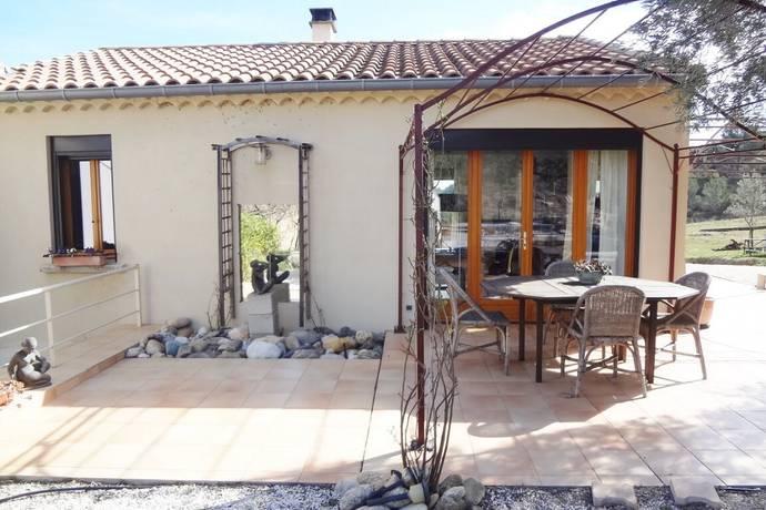 Bild: 4 rum villa på Cazedernes, Frankrike Languedoc-Roussillon