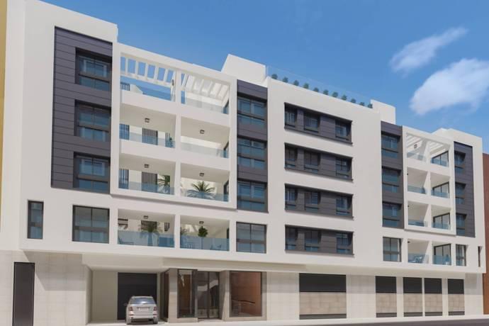Bild: 4 rum bostadsrätt på Malaga Centro, Spanien Málaga