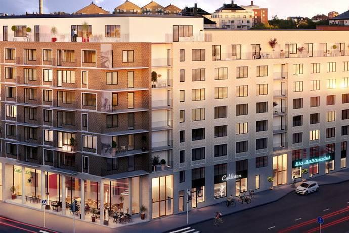 Bild: 2 rum bostadsrätt på Gränsgatan 22, vån 4 av 8, Solna kommun Solna-Näckrosen-Råsunda