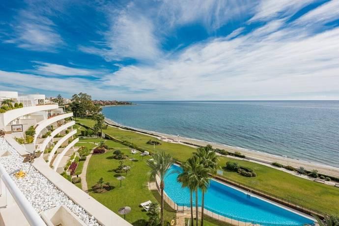 Bild: 4 rum bostadsrätt på Stort exklusivt penthouse vid havet, Spanien Estepona - New Golden Mile