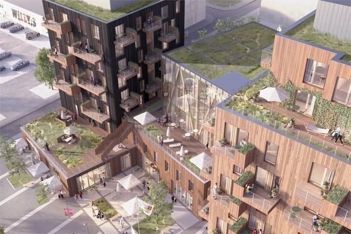 Bild: 1 rum bostadsrätt på Brf Sågverket , Knivsta kommun Centralt