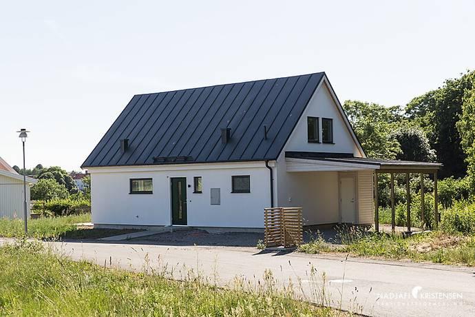 Bild: 4 rum radhus på Hästräfsevägen 9 - Tomt C, Båstads kommun Förslöv