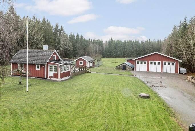 Bild: 4 rum gård/skog på Vallby 171, Karlskrona kommun Vallby