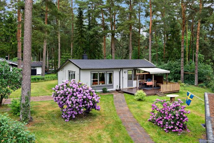 Bild: 2 rum fritidshus på Örnbacken 3, Sjöbo kommun Sommarby