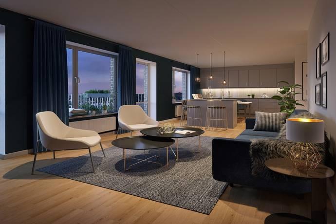 Bild: 4 rum bostadsrätt på Kungsängsesplanaden 10C, Uppsala kommun Kungsängen