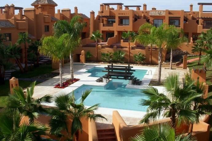 Bild: 84 m² villa på Parhus duplex i komplex med pool, Spanien San Miguel de Salinas - Costa