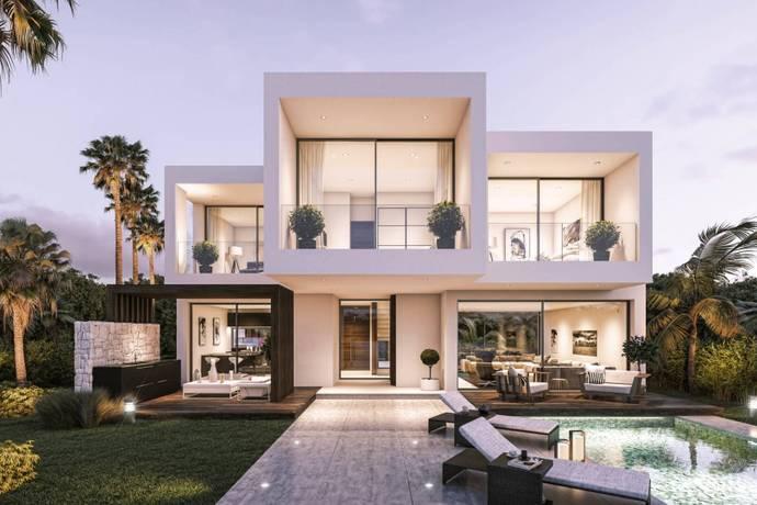 Bild: 3 rum villa på Costa del Sol, Estepona, Spanien