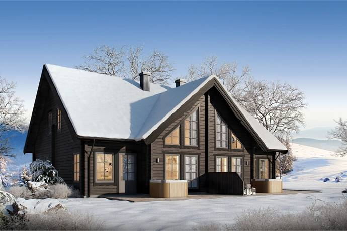 """Bild: villa på """"Lugnet Idre"""" Björnvägen, Älvdalens kommun Idre"""