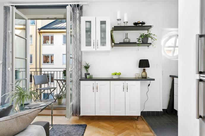 Bild: 1 rum bostadsrätt på Högalidsgatan 33, 2 tr, Stockholms kommun Södermalm
