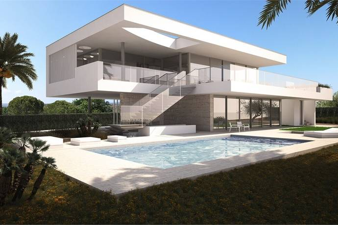 Bild: 5 rum villa på Modernt PASSIVHUS, Portugal Praia da Luz | Lagos | Algarve