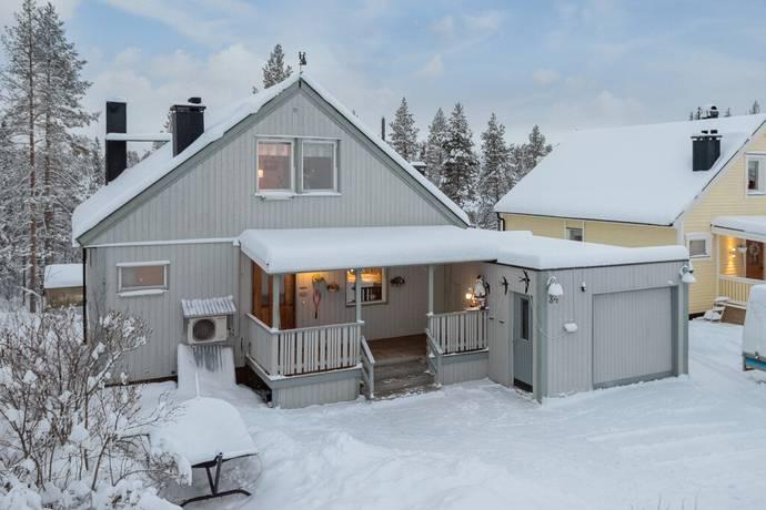 Bild: 6 rum villa på Gruvbyggarvägen 34, Gällivare kommun Mellanområdet