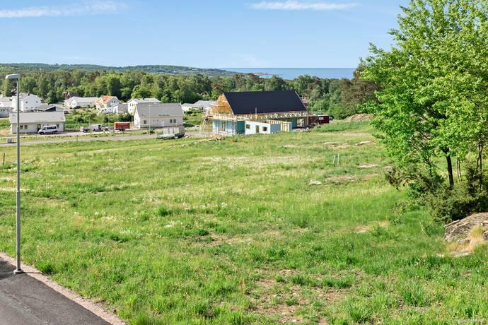 Bild: tomt på Kocka Gärdes väg 9, Falkenbergs kommun Ringsegård