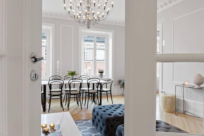 Bild: 4 rum bostadsrätt på Grevgatan 43, 4 tr, Stockholms kommun Östermalm