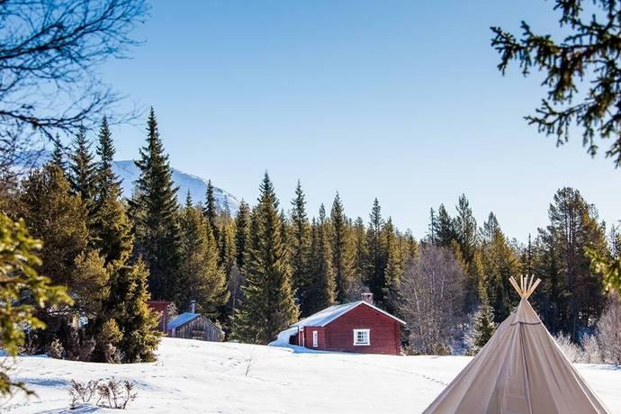 Bild: 1 rum fritidshus på Uppvallsvägen 20, Härjedalens kommun Lofsdalen