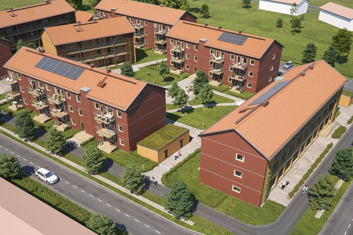 Bild från Södra Hemlingby - BoKlok Skölden