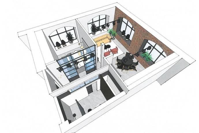 Bild: 3 rum bostadsrätt på Muréngatan 38, Gävle kommun Söder / Södertull