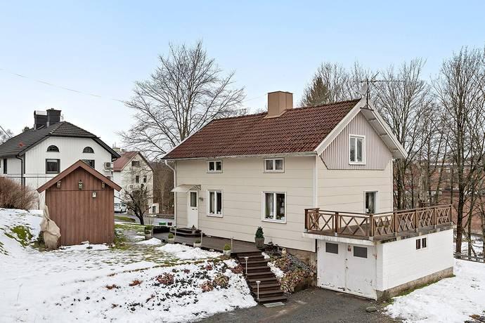 Bild: 4 rum villa på Hedevägen 13, Marks kommun Kinna