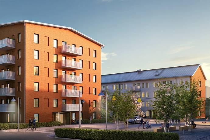 Bild: 1 rum bostadsrätt på Ingeborg Hammarskjölds Gata 57, Göteborgs kommun Kviberg