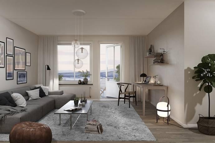 Bild: 4 rum bostadsrätt på Maria Taavenikus Gata 4, Kiruna kommun