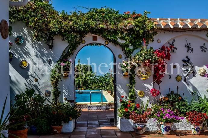 Bild: 7 rum villa på Ett hus för trädgårdsintresserade!, Spanien Cómpeta | Costa del Sol