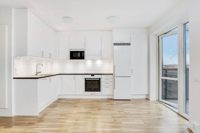 Bild: 1,5 rum bostadsrätt på Karlslundsvägen 18, våning 6 av 7., Järfälla kommun Barkarbystaden