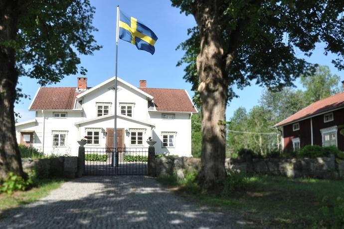 Bild: 10 rum gård/skog på Bispebo Gård, Västerås kommun Västerås
