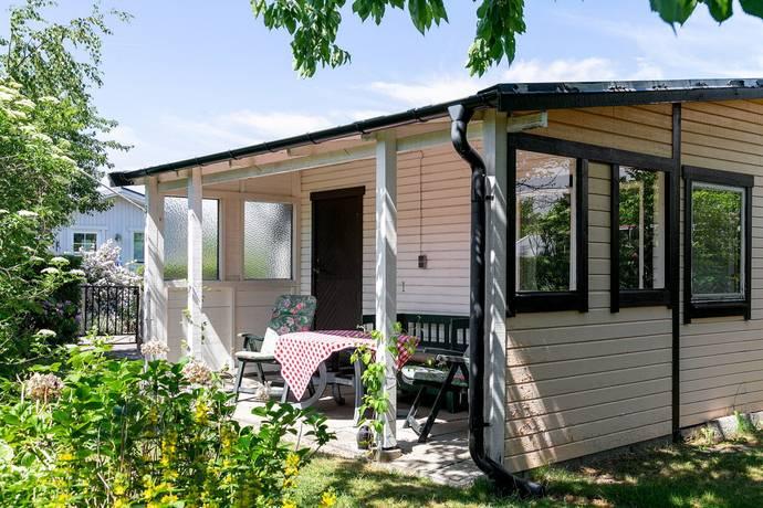 Bild: 1 rum fritidshus på Moltkegången 20, Malmö kommun Ärtholmens Sommarstad