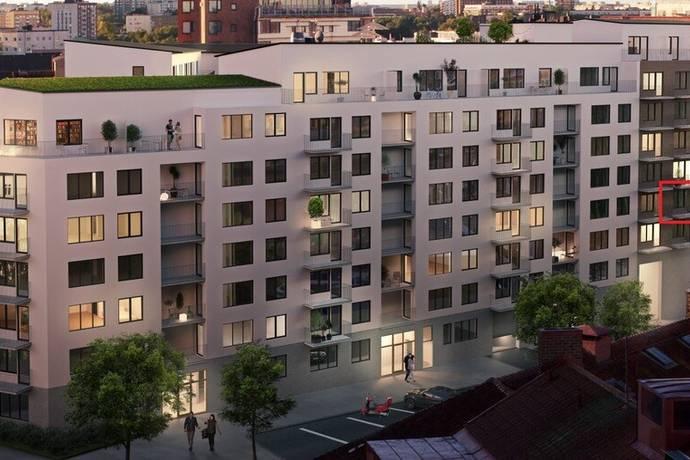 Bild: 3 rum bostadsrätt på Gränsgatan 22, vån 3, Solna kommun Råsunda