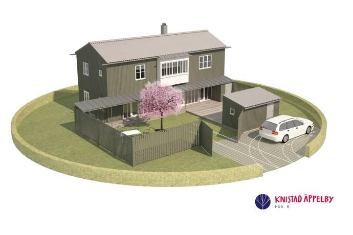 Bild: 3 rum villa på Knistad Äppelby Hustyp B, Skövde kommun Knistad Äppelby