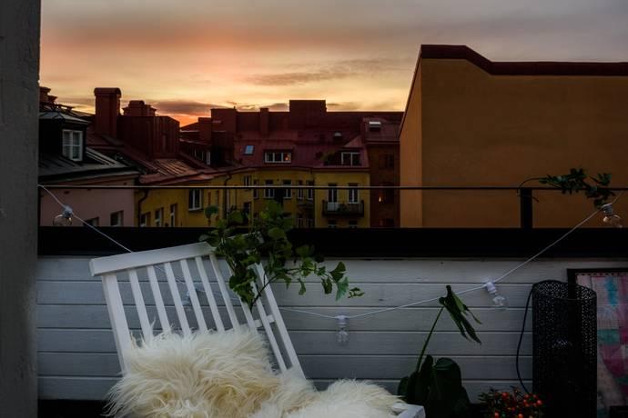 Bild: 2 rum bostadsrätt på Lignagatan 4, vindslägenhet, Stockholms kommun Södermalm Högalid