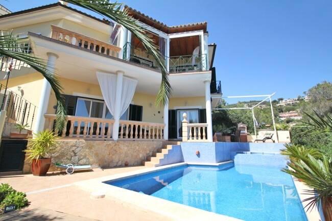 Bild: 4 rum villa på Villa, Mallorca - Palma - Costa d'en Blanes, ES, Spanien Costa d'en Blanes