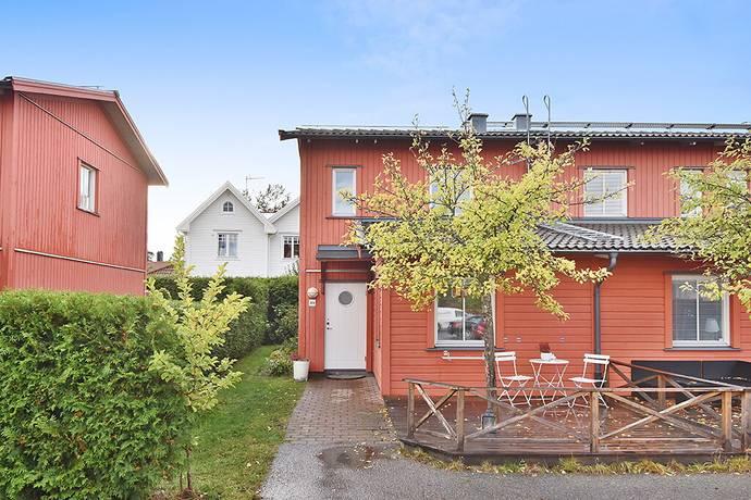 Bild: 4 rum radhus på Läktvägen 89, Haninge kommun Vendelsö/Kyrkviken