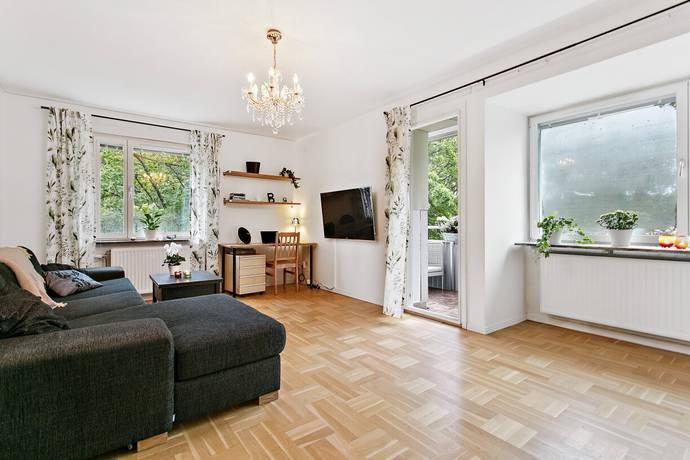 Bild: 2 rum bostadsrätt på Atlasvägen 41, Nacka kommun Sickla - Tallbacken