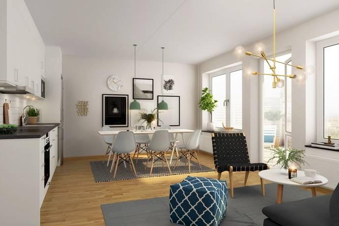 Bild: 3 rum bostadsrätt på Virkesvägen 9J, 2-1703, Stockholms kommun