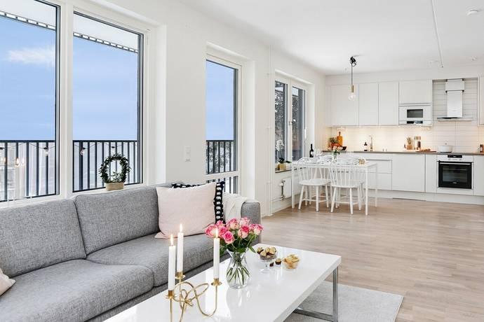 Bild: 2 rum bostadsrätt på Rangstagatan 18, 10 tr., Stockholms kommun Högdalen