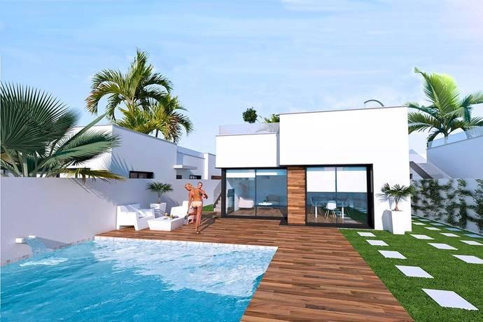 Bild: 4 rum villa på Nybyggd villa med takterrass, Spanien Roda Golf, Costa Calida