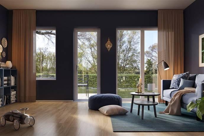 Bild: 5 rum radhus på Droppstensgatan RH2-1001, 4-5 Rok, Varbergs kommun Breared