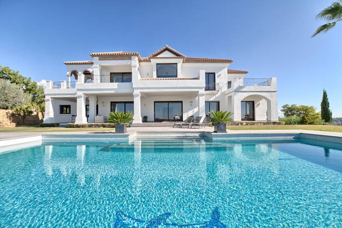 Bild: 7 rum villa på Vacker villa i Los Flamingos Golf Resort, Benahavis!, Spanien Benahavis